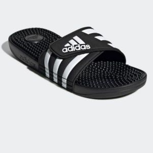 adidas Adissage Slides in Black